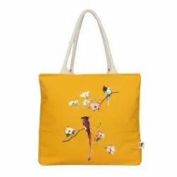 BLIVUS Yellow Canvas Vegetable Bag