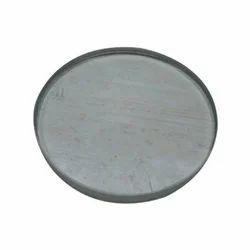 Shree Sai Glass Transparent Toughened Circular Glass, for Industrial, Shape: Flat