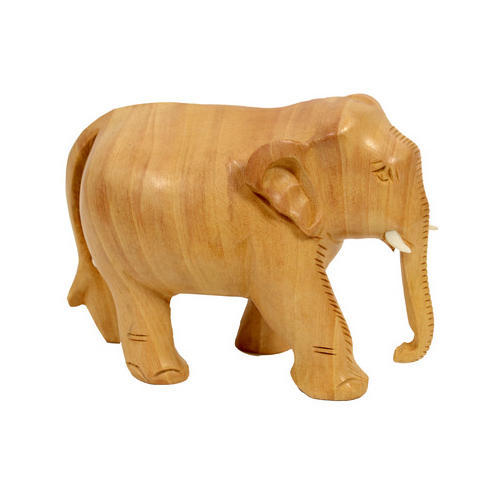 Home Decoration Wooden African Elephant Statue