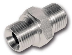Male Stainless Steel Hydraulic Adapters, Thread Size: NPT