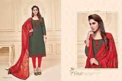 Unstitched Stylish Salwar Kameez