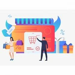 Compact PHP E-Commerce Web Development Service, With Chat Support