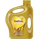 Saffola Gold Cooking Oil Low Cholesterol, Packaging: 5 Litre