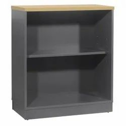 Fonzel Wooden Open Shelf Cabinet With Base