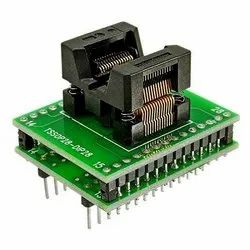 TSSOP28 To DIP28 Adapter Compatible with TSSOP20 TSSOP8 16 IC Test Socket Adapter(170mil)
