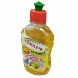 Smile+ Lemon Liquid Dish Wash, Packaging Type: Bottle, Packaging Size: 250 Ml