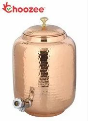 Choozee - Copper Matka Water Tank - Leakage Proof (8 LTR)