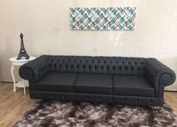 Modern Black Sofa for Home