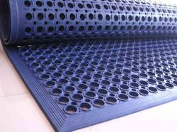 Rubber Plain Anti Fatigue Floor Mat