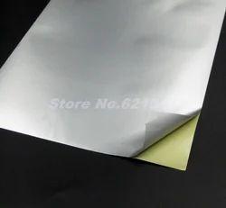 Silver Dull Digital Gumming Sheet