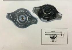 Radiator Pressure Cap with Vacuum Sensors