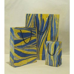 Marble Printed Paper Bag