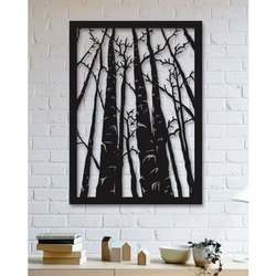 Forest Trees Wooden Handicraft