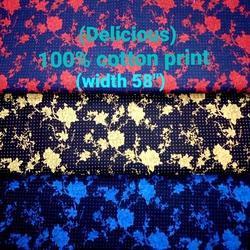 Cotton Print Shirting Fabric (Delicious)