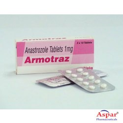 Anastrozole Tablet, 10 Tablets , Packaging Type: Blister Pack