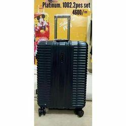 High Rise Black Platinum Trolley Bag 639ee60049b48