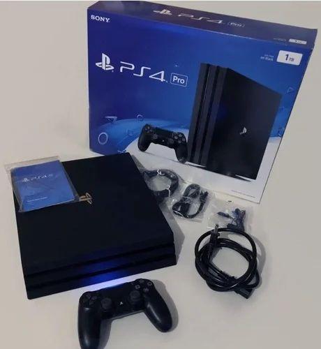 0e21bd255 PS4 Pro Sony PlayStation 4 Pro 1TB Black Console, सोनी ...
