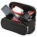 Black Outdoor Waist Pouch Bag
