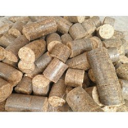 Saw Dust BIO MASS BRIQUETTE, For Boiler, Thickness: 90 Mm