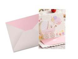 Art Paper 18 To 60 Years Baby Shower Invitation Card, 02, India