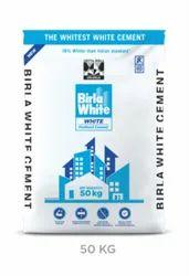 Birla White Cement 50kg, Packaging Type: Hdpe