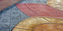 Coloured Concrete Flooring