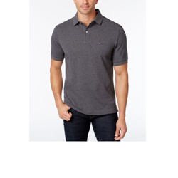 Mens Cotton Dark Grey T-Shirt, Size: S-L