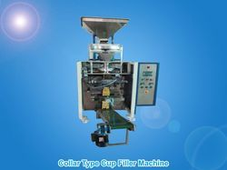 Coller Type Cup Filler Machine