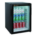 5 Star Metal Absorption Technology Based Glass Door Mini Bar Refrigerator, Capacity: 40l