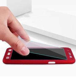 finest selection 188e0 0fc70 Oppo F1s 360 Degree Cover With Tempered Glass (red)