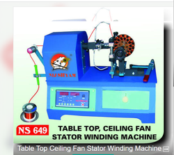 Celing Fan Cum Table Fan Coil Winding Machine
