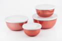 Microvave Stainless Steel Bowl See Of 4