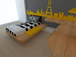 Turnkey Bedroom Interior Designing Projects