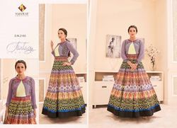 Multicolor Designer Anarkali Suit