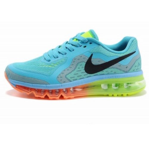 best sneakers f0861 ddd30 Men Multicolor Nike Air Max 2014 Sports Shoes Sky Blue, Size: 10 And Free