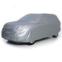 Silver Hdpe Tarpaulin Car Cover