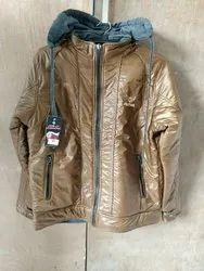 Full Sleeve NS and Fleece Reversible Mens Jacket, Size: Large