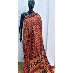 Hand Block Cotton Sarees