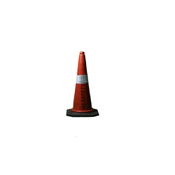 Rubber Base Plastic Traffic Cone