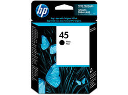 HP 45 Black Original Ink Cartridge (51645AA)