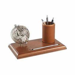 Globe Pen Holder