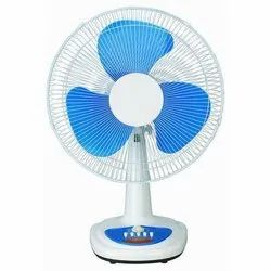 3 Blue Electric Table Fan