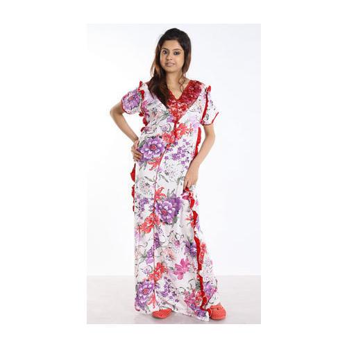 Full Length Rayon Printed Nighty 5c82ff00d