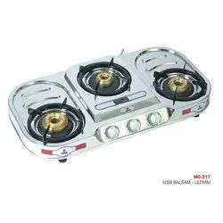 MC-317 Oval Three Burner Stove