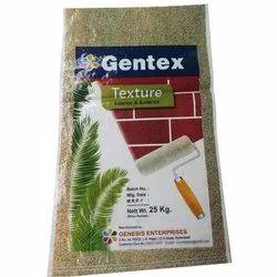 Genesis Gentex Texture Paint, Packaging Size: 25 kg, Packaging Type: Sack Bag