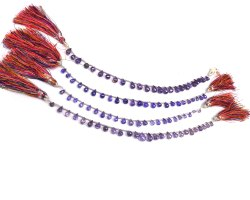Purple Zircon Beads Strands