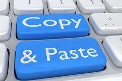 Offline Copy Paste Project