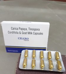 Carica Papaya,Tinospora Cordifolia&Goat Milk Capsule