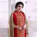 Multi Color Party Wear Rani Shahira Dress Material