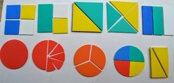 Fractions in Shapes Educational Kits